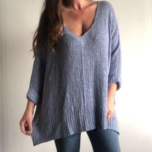 She Sky Sweaters She Sky Oversized Loose Knit Sweater Poshmark